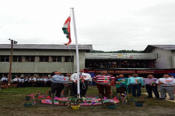 Jawahar Navodaya Vidyalaya-Events republic day