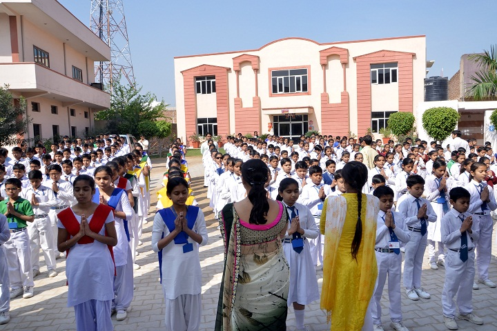 Swami Vivekanand Public School-Assembly
