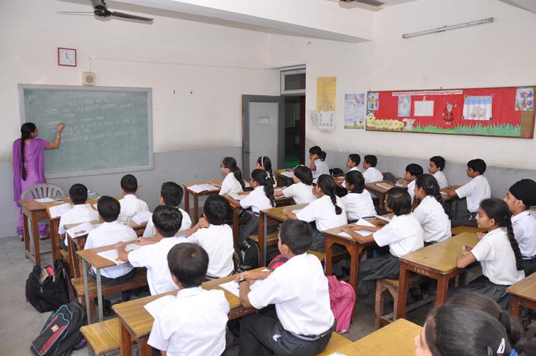 Tagore Baal Niketan-Classroom