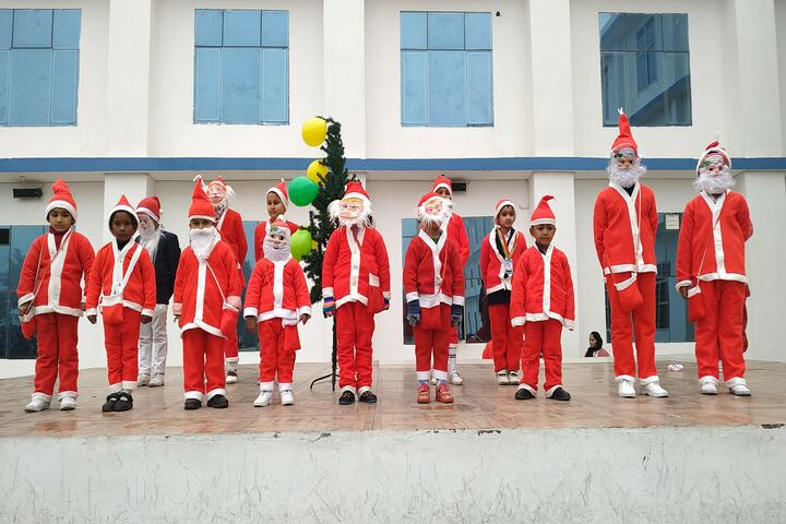 Tagore Public School-Christmas Celebrations