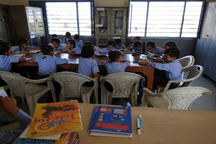 Tagore Public School-Library-Reading-Room