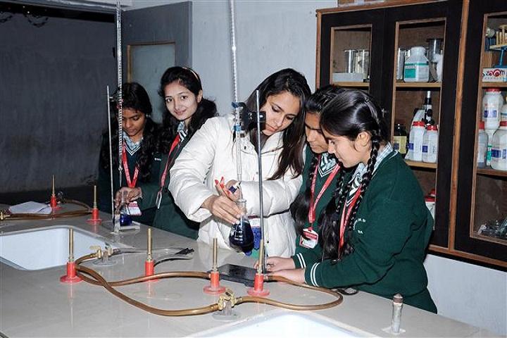 Tagore Senior Secondary School-Chemistry-Lab