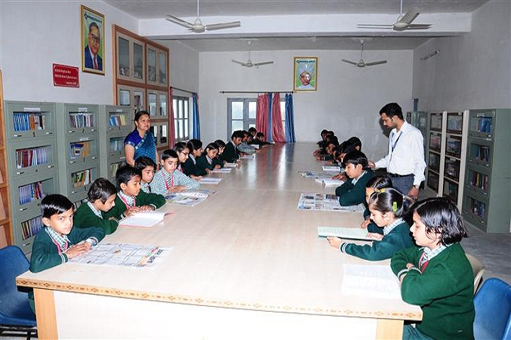 Tagore Senior Secondary School-Library