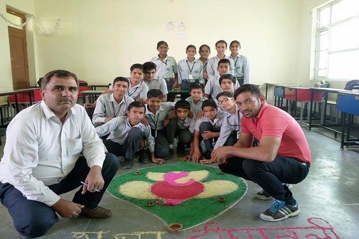 Takshishila International School-Rangoli