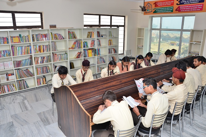 The Genius Senior Secondary School-Library