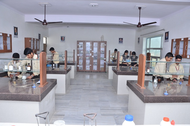 The Genius Senior Secondary School-Science lab