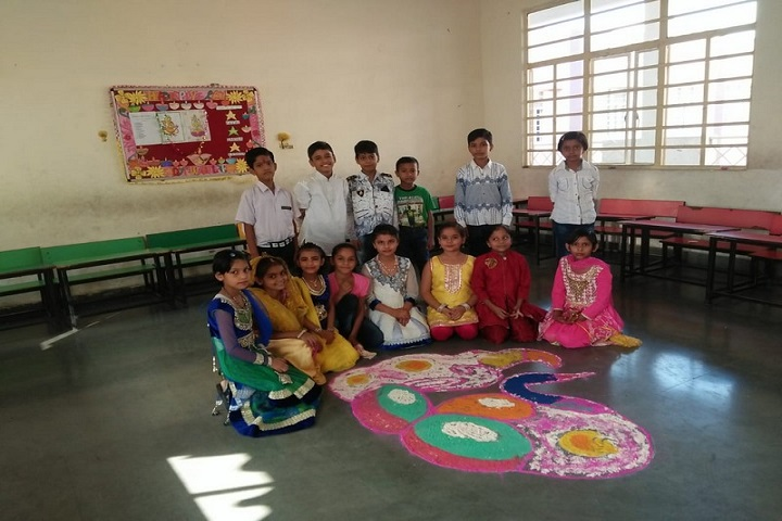 The Golden Era Public School-Rangoli Competition