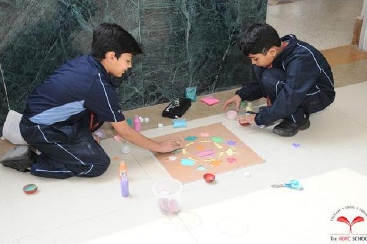 The HDFC School-Diwali Celebrations