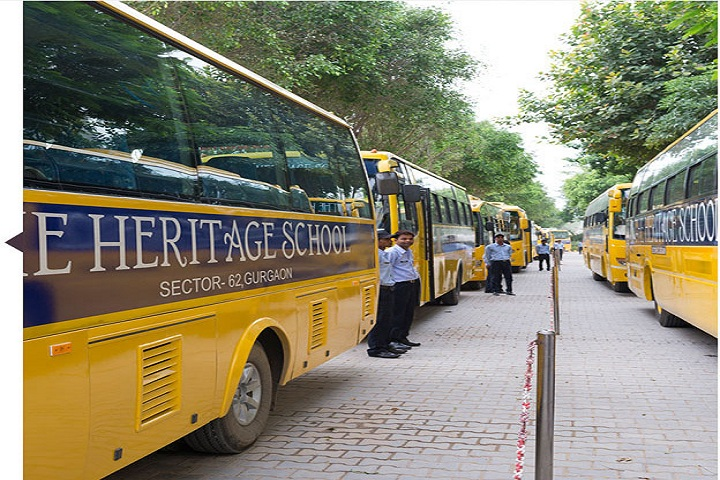 Heritage Xperiential Learning School-Transport