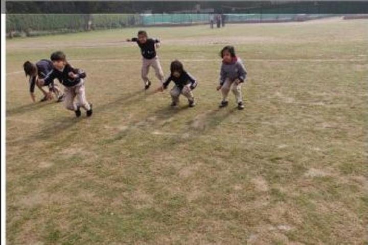 The Maurya School-Frog race