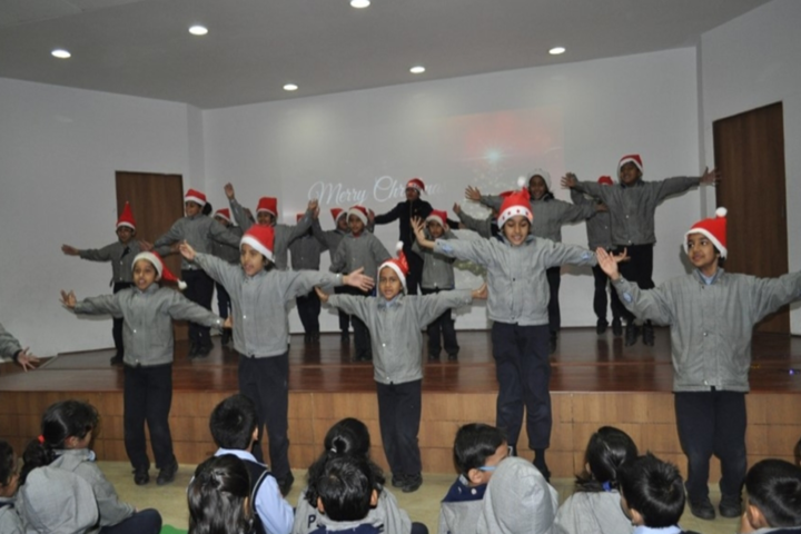 Paras World School India-Christmas Day Celebrations