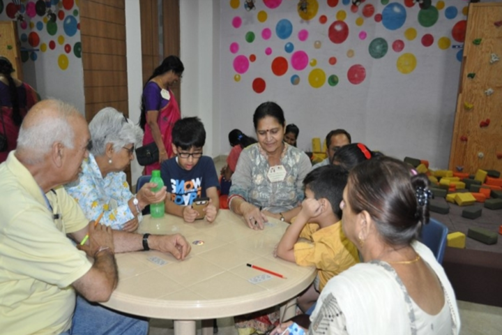 Paras World School India-Grandparents Day