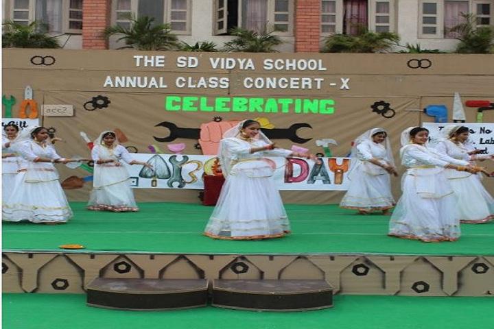 The S D Vidya School-Annual day