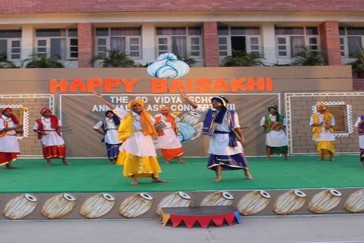 The S D Vidya School-Baisakhi celebrations