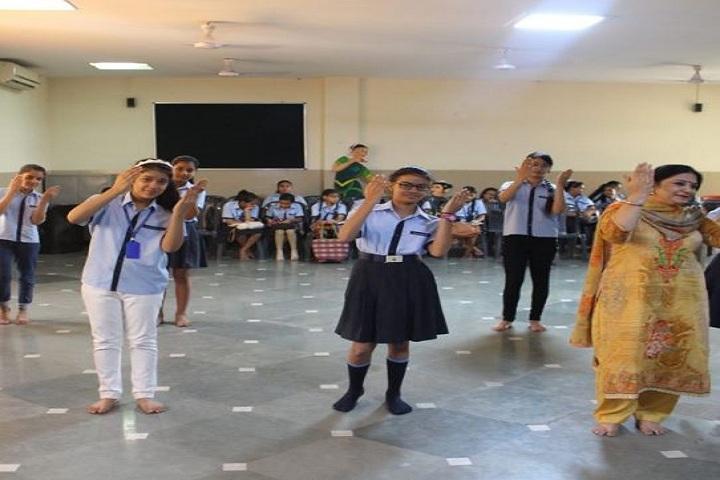 The S D Vidya School-Dance room
