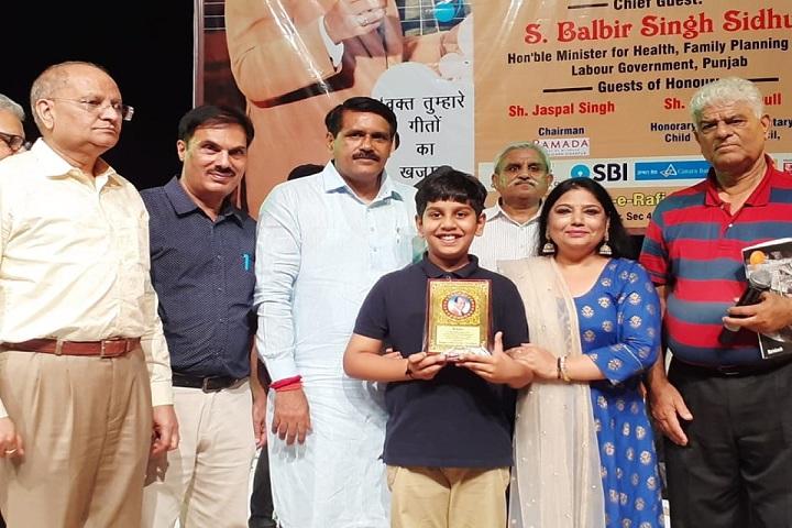 The S D Vidya School - Award Taking