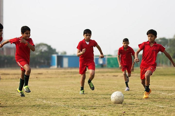 The Shikshiyan School-Foot ball
