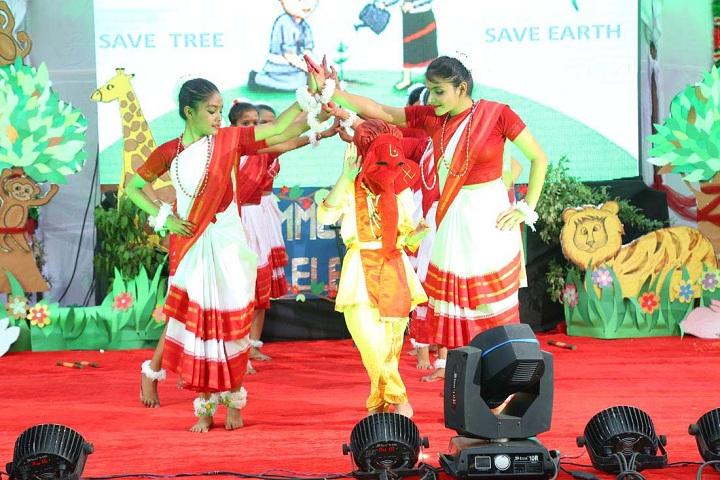 Triveni Memorial Senior Secondary School-Cultural event