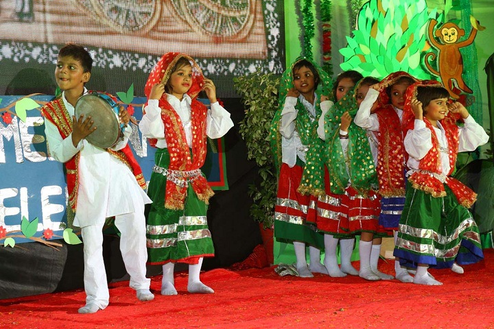 Triveni Memorial Senior Secondary School - Regional Dance
