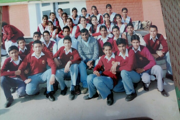 University Senior Secondary Model School-Staff And Students
