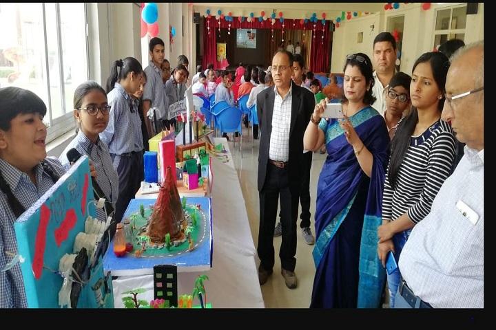 V M Senior Secondary School-Exhibition