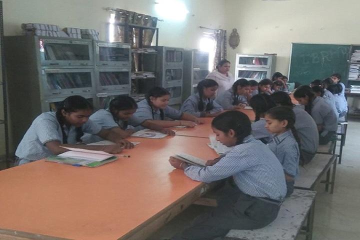V M Senior Secondary School-Library