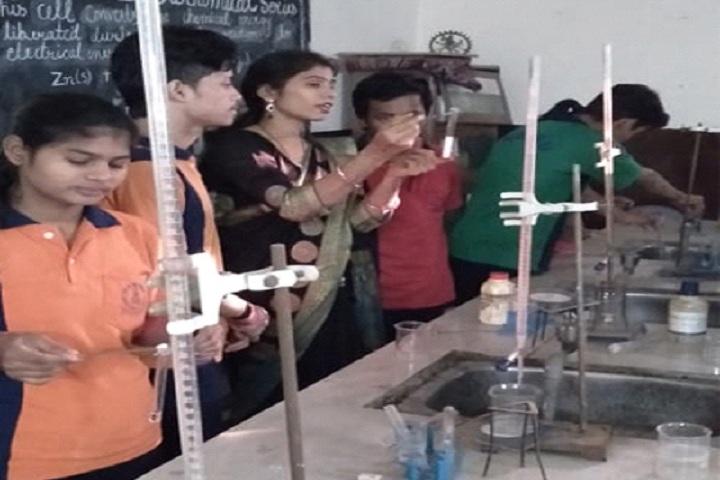 V M Senior Secondary School-Science lab