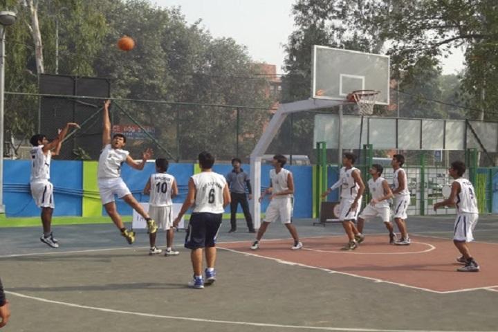Victor International School-Basket ball court