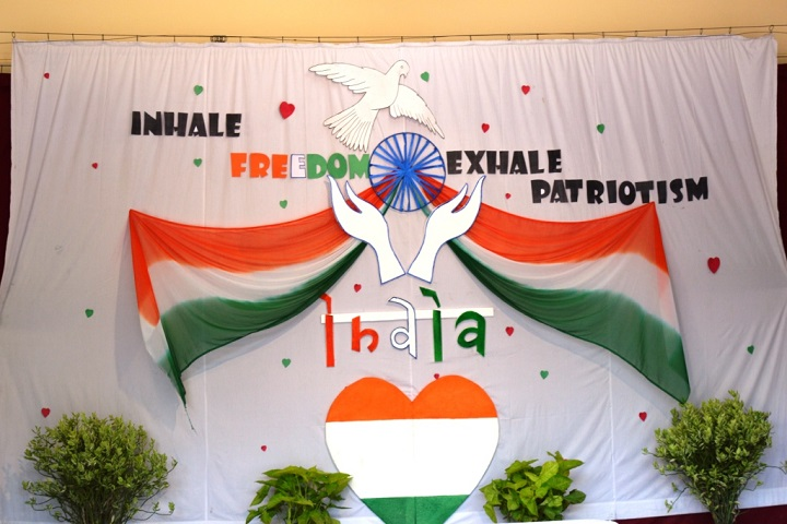 Victor International School-Independences day Celebrations