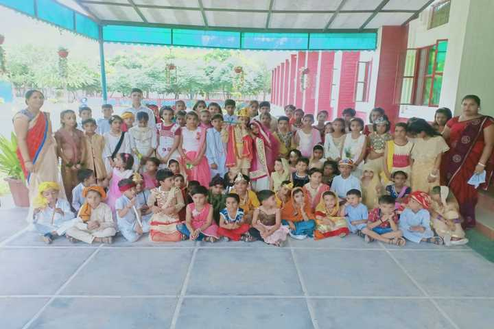 Vidhya Bharti Day Boarding Public School-Janmashtmi Celebration