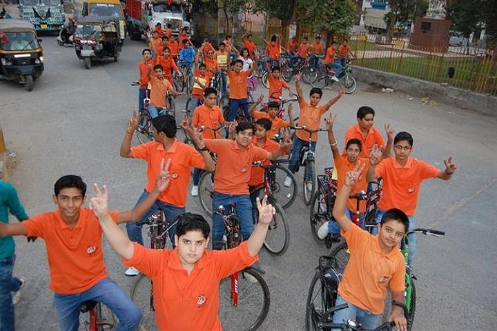 Vidyantriksh Senior Secondary School-Cycle Rally
