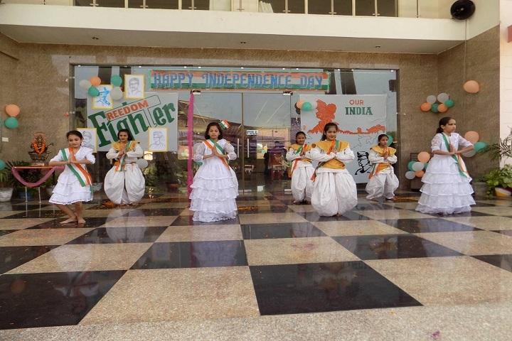 Vikas International School-Independence day