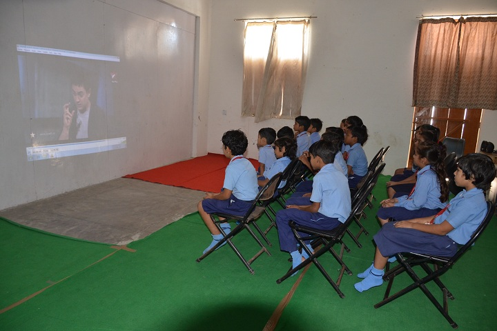 Vivekanand Public School-Audio-Visual Room