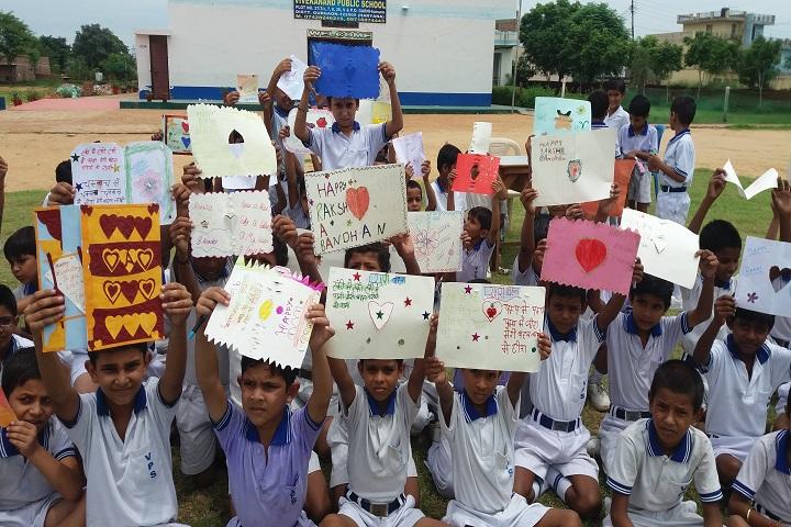 Vivekanand Public School-Rakshabandhan Celebrations