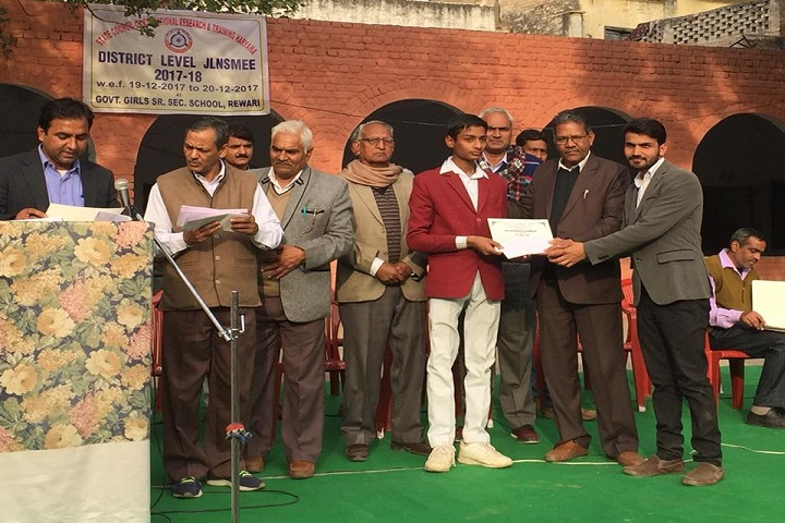 Vivekanand Senior Secondary School-Awards