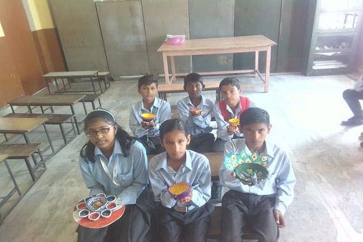 Vivekanand Senior Secondary School-Diwali Celebrations