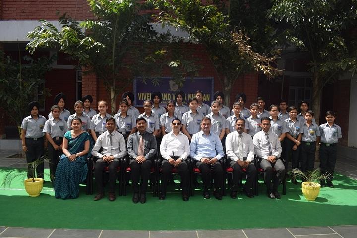Vivekanand Vidya Niketan-Investiture Ceremony
