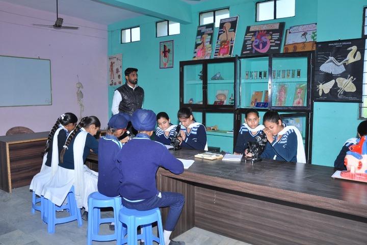 Wellwisher Public Senior Secondary School-Biology Lab
