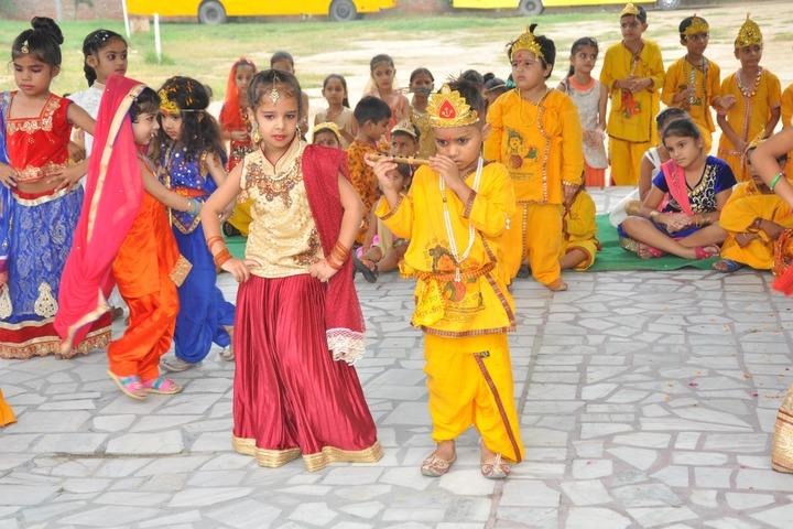 Wellwisher Public Senior Secondary School-Krishnastami Celebrations