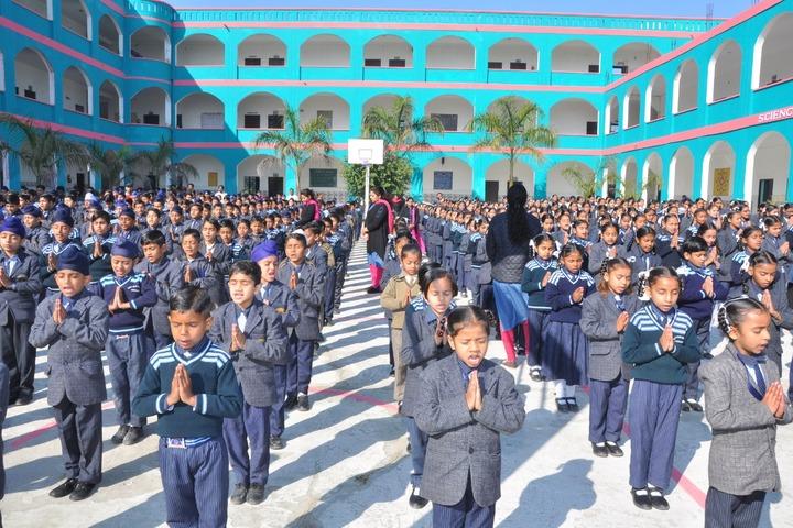 Wellwisher Public Senior Secondary School-Morning Assembly