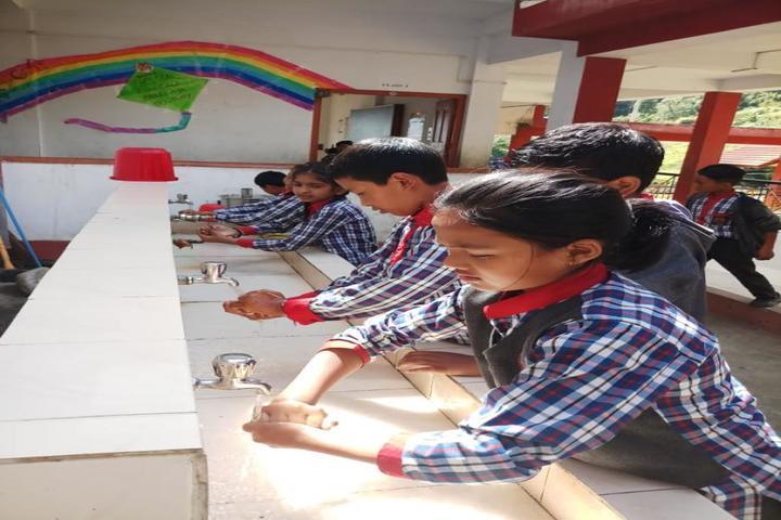 Kendriya Vidyalaya-Handwash