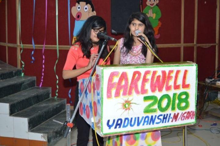 Yaduvanshi Shiksha Niketan-Farewell Event