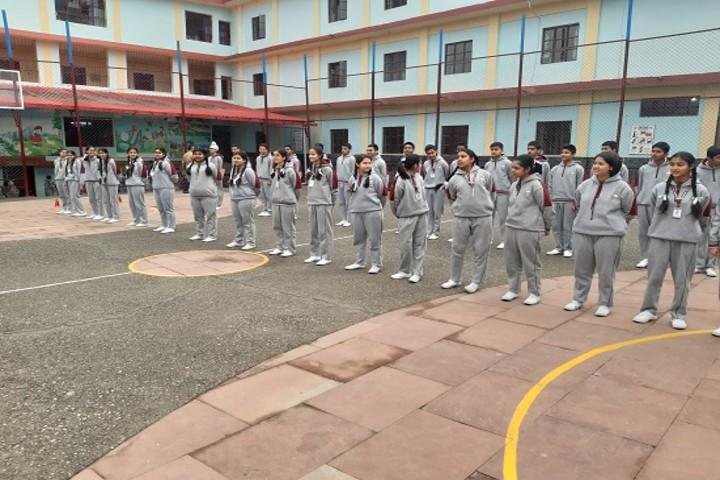 Aadhunik Public School-activity