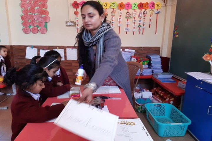 Aadhunik Public School-class