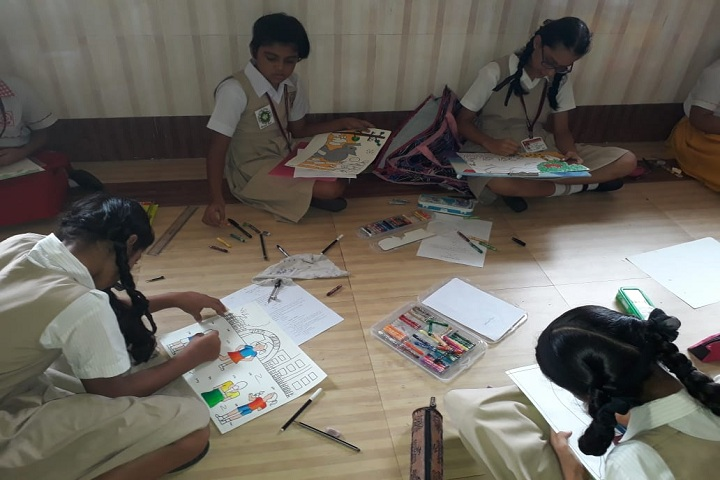 Convent Girls High School-Drawing Competition
