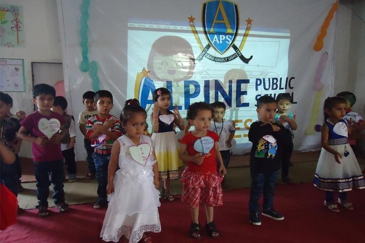 Alpine Public School-Mothers Day