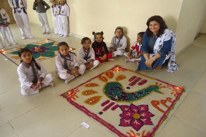 Alpine Public School-Rangoli