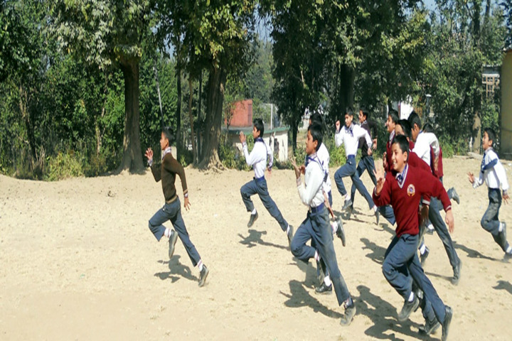 Angels Public School-Running Competition