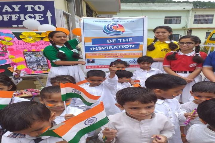 Angels Public School-Independence Day Celebrations