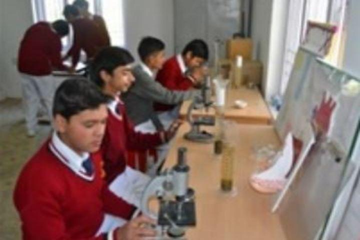 Anuradha Public Senior Secondary School-Biology Lab